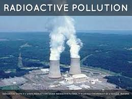 short essay on radioactive pollution words