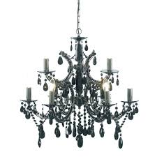 54 most prime mini black chandelier plug in wood and iron chandeliers with crystals throughout wrought