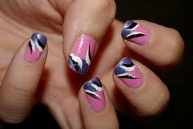 Easy Nails Art Design Using A Toothpick Simple Flower Nail Art ...