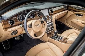 bentley mulsanne leather interior