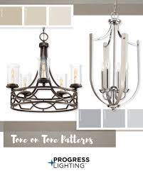 Progress Lighting Rep Mix It Up With Tone On Tone Finishes Polished Nickel With