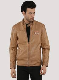 being human faux leather jacket with sleeve appliques ping 1