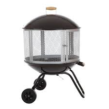 wood burning patio fire pits. Fire Sense 28 In. Bessemer Patio Fireplace Wood Burning Pits A