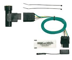 amazon com hopkins 41105 plug in simple vehicle wiring kit 6 conductor trailer wire at Universal Trailer Wiring Harness