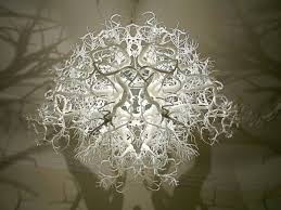 Tree Shadow Light Shade Coolest Light Fixture Ever It Projects Forest Shadows On