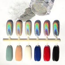 Amazon.com : Born Pretty 1Gram Holographic Laser Powder Nail ...