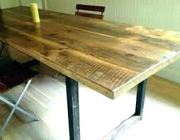 reception desk reclaimed wood top awesome unfinished round table tops designs within curved for unfinishe