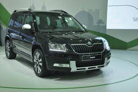 new car launches september 2014 india2014 Skoda Yeti facelift India launch on September 10  New and