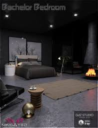 Bachelor Room Bachelor Bedroom 3d Models And 3d Software By Daz 3d