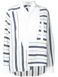 Loewe Size Chart Loewe Asym Shirt Stripes