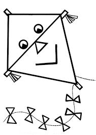 Small Picture Printable Kite Coloring Pages Coloring Me