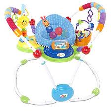 Amazon.com: Baby Einstein Musical Motion Activity Jumper, Blue ...