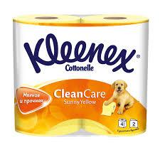 <b>Туалетная бумага Kleenex Clean</b> Care двухслойная