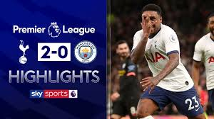 Tottenham emerged with the win in a wild game against manchester city that featured multiple var controversies and a sending off. Spurs Beat 10 Man City After Var Drama Video Watch Tv Show Sky Sports