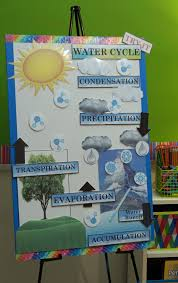 Active Anchor Chart Water Cycle Water Cycle Project Water