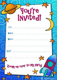 Birthday Party Invitation Template Templates For New Free Printable