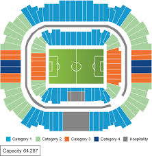 St Petersburg Stadium Seating Chart Sports Events 365 Morocco Vs Iran Krestovsky Stadium 15