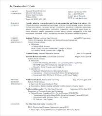 Computer Science Cv Template Doc Medpages Co