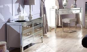 mirrorred furniture. Groupon Goods Global GmbH: Fully Assembled Valencia Mirrored Furniture Bedroom Collection With Free Delivery Mirrorred