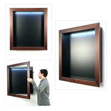 large shadow box display case swing open extra large top lighted wood shadow box display cases large shadow box