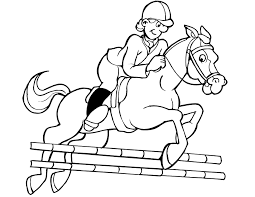 Small Picture Horse Jockey Coloring Pages Coloring Pages