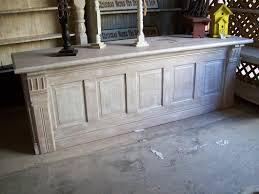 repurpose door to counter or bar