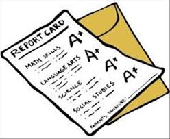 Image result for cartoon tiger with a report card jpeg image
