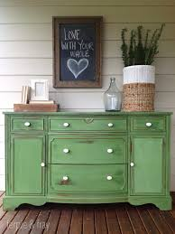 painted green furniture. Chalk Painted Furniture By Color Series - GREEN Green D