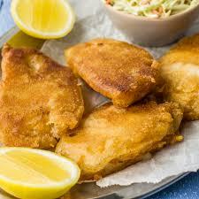 gluten free beer battered fried fish recipe