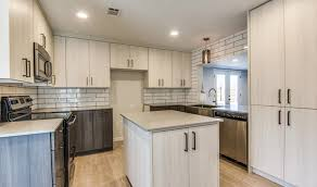 modern kitchen remodel cabinets counters