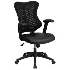 fully adjustable office chair. Amazon.com: Flash Furniture High Back Designer Black Mesh Executive Swivel Chair With Leather Seat And Adjustable Arms: Kitchen \u0026 Dining Fully Office 8