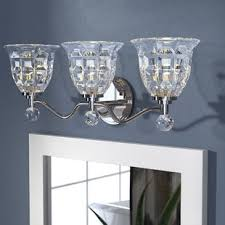 glam lighting. Eduard 3-Light Vanity Light Glam Lighting