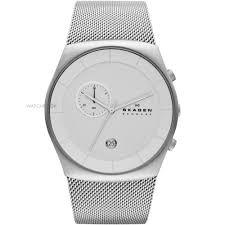 """men s skagen havene chronograph watch skw6071 watch shop comâ""""¢ mens skagen havene chronograph watch skw6071"""