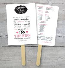 diy wedding program kits diy wedding program fan kit order of service weddi on green