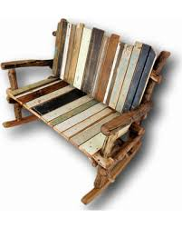 rustic wooden rocking chairs. Contemporary Wooden Wooden Rocking Chair Reclaimed Wood Bench Rustic Furniture Shabby Chic  Painted Entryway Log On Chairs