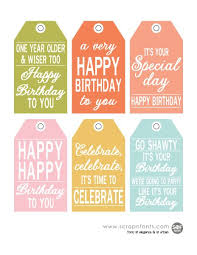 Birthday Tags Template Free Printable Birthday Tags For Gifts And Goodies Fontaholic