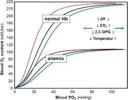 Blood Oxygen Level Chart Body Effects Of Hemoglobin Concentration And Ph Co2 2 3 Dpg And