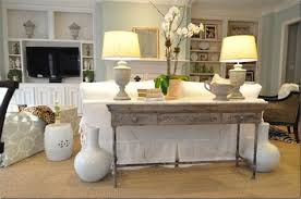 A Console Behind Sofa Table Decorating Ideas Coho
