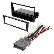 car stereo radio kit dash installation mounting trim bezel w wiring harness for select saturn vehicles Boss Car Stereo Wiring Harness at Wiring Harness For Car Stereo Walmart