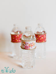 Water Bottles To Decorate Easy Fabric Decorated Water Bottle Tutorial Tikkido 46