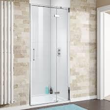900mm easy clean hinged shower enclosure 8mm bathroom cubicle glass door