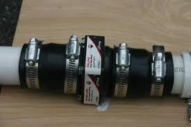 garden hose check valve. Make Sure That The Check Valves Are Pointed Same Direction-- Away From Garden Hose Valve -