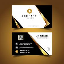 Luxury Business Card Design Vector Free Download