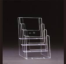 a5 freestanding leaflet holder 4 tier bay