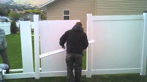 white fence panels. Image Of: Plans Install White Panels Privacy Fence
