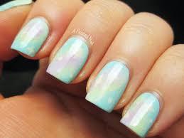 A Painted Nail: Pastel Galaxy Nails - Lime Crime Nail Art Week