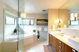 chandelier above bathtub master bathroom decor master bathroom with glass chandelier above cornered bathtub and modern