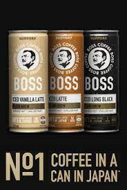 Japanese company suntory boss coffee has announced it will launch its canned iced coffee range in australia on 1 november. Suntory Boss Coffee No 1 Coffee In A Can In Japan