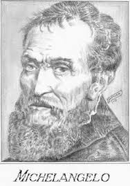 Image result for michelangelo portrait