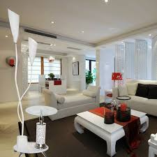 Best Colour Combination For Living Room Using White Wool Rugs And  Chandelier Lamp Shades